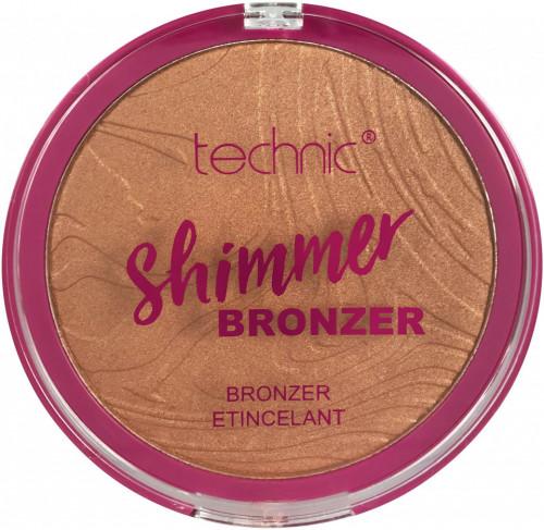 Pudra bronzanta iluminatoare Technic Shimmer Bronzer