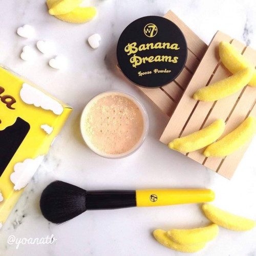 Pudra de fata W7 Banana Dreams Loose Powder