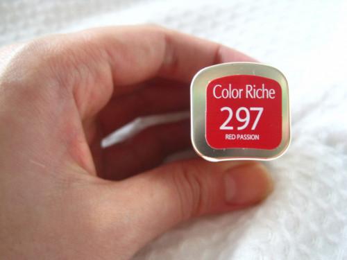 Ruj rezistent Loreal Color Riche 297 Red Passion