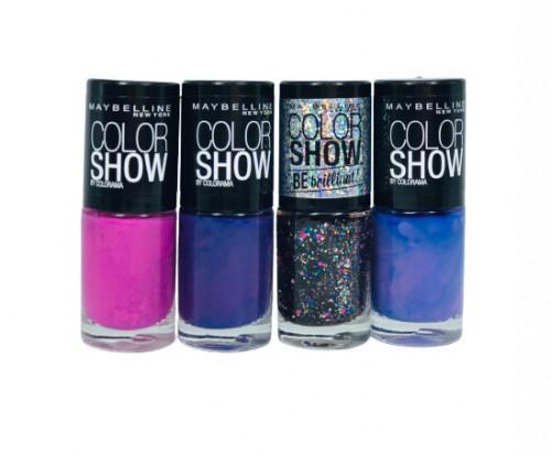 Set 4 Lac de unghii Maybelline Color Show Colorama 01