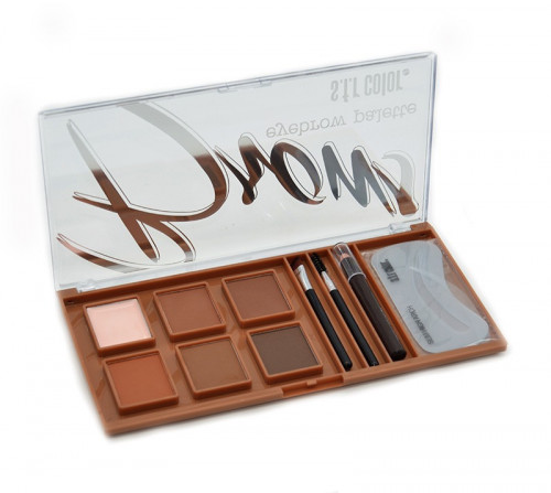 Trusa Fard Kit Sprancene SFR Color Brows Palette
