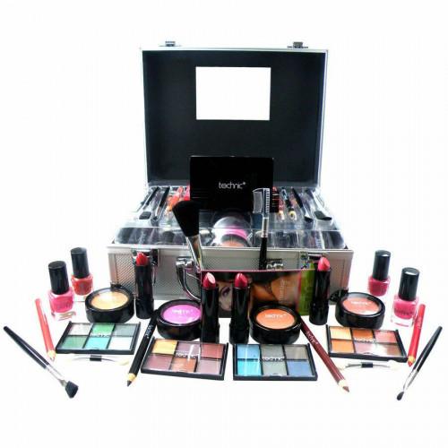 Trusa machiaj + Geanta depozitare cosmetice Technic
