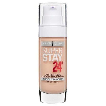 Fond de ten rezistent Maybelline Superstay 24 H, 21 Nude Beige