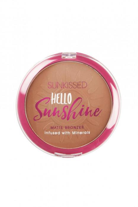 Pudra bronzanta Sunkissed Hello Sunshine Matte Bronzer