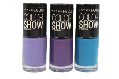 Set 3 Lac de unghii Maybelline Color Show Colorama 01