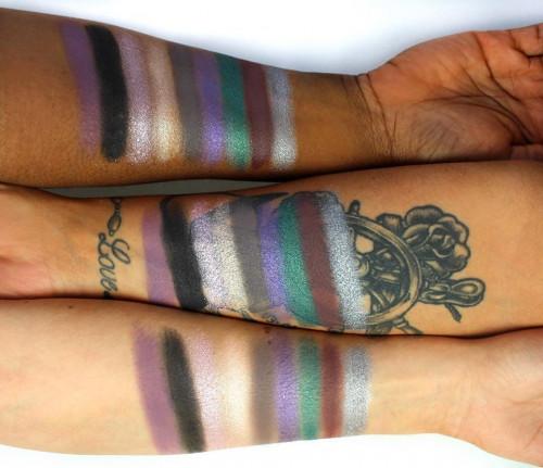 Trusa fard de ochi Technic Galaxia Eye Palette Limited Edition