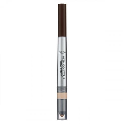 Creion pentru Sprancene Loreal High Contour Brow Artist, Nuanta 108 Warm Brunette