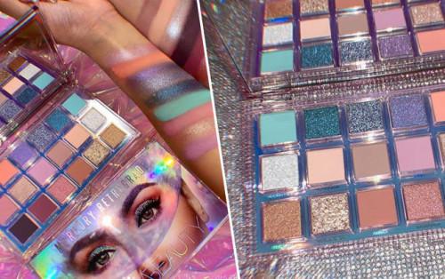 Paleta machiaj 18 farduri Huda Beauty Mercury Retrograde