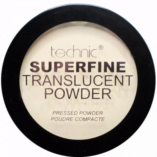 Pudra compacta translucida Technic Superfine Translucent Powder