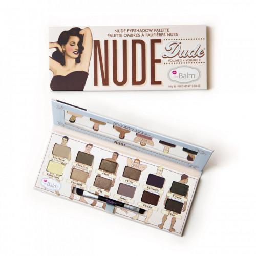 Trusa machiaj TheBalm Nude Dude Volume 2