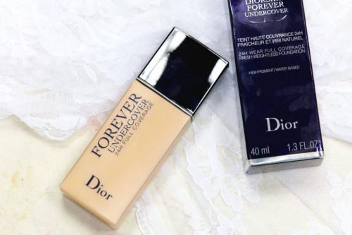 Fond de ten Dior Forever Undercover 24H Full Coverage 010 Ivory