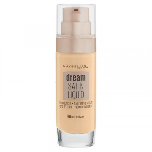 Fond de ten Maybelline Dream Satin Liquid Nuanta 01 Natural Ivory