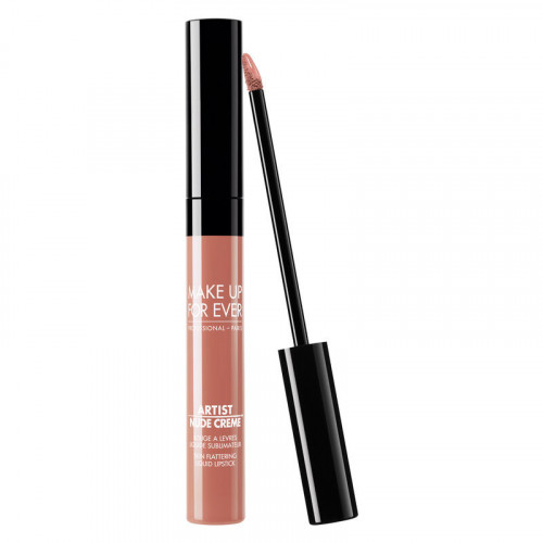 Ruj lichid de buze Make Up For Ever Artist Nude Creme, Nuanta 01 Uncovered