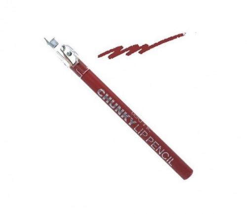 Creion de buze Technic Chunky cu ascutitoare, Southern Belle