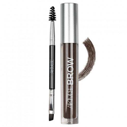 Gel fixare sprancene AIKIMUSE Brow Gel, Nuanta Black Brown