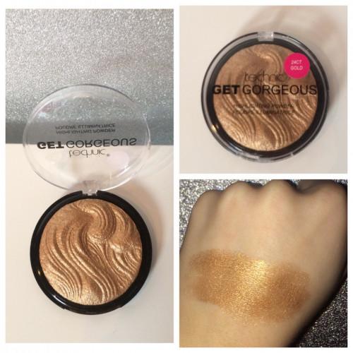Iluminator Technic Get Gorgeous Highlighting Powder 24CT Gold