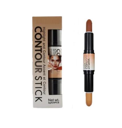 Kiss Beauty Contour Stick, Highlight & Contour Accent, Nuanta C