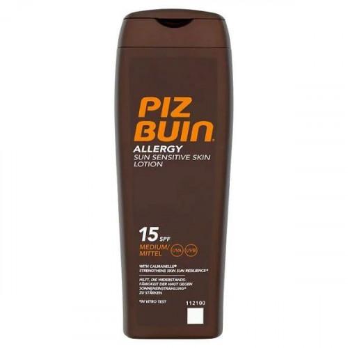 Lotiune Protectie Solara Piz Buin Allergy pt piele sensibila, SPF15