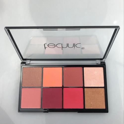 Paleta fard de obraz si iluminator Technic Jungle Fever Blush Highlight Palette