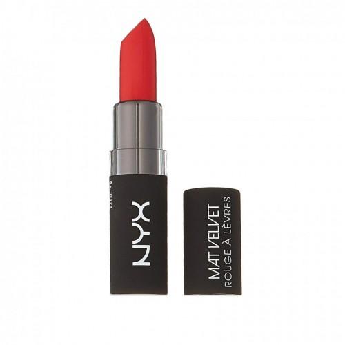 Ruj de buze mat NYX Velvet Matte Lipstick 11 Blood Love