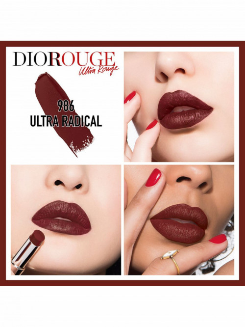 Ruj Dior Ultra Rouge, 986 Radical
