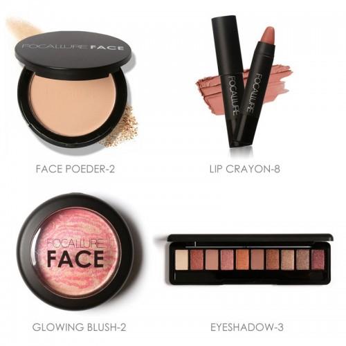 Trusa machiaj Kit cutie cu 9 produse cosmetice Focallure OFERTA