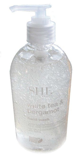 Sapun lichid de maini Om She Aromatherapy White Tea & Bergamot Hand Wash, 500 ml