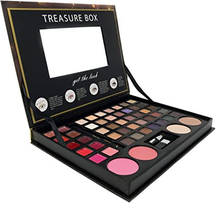 Trusa machiaj Profusion Treasure Box Pink