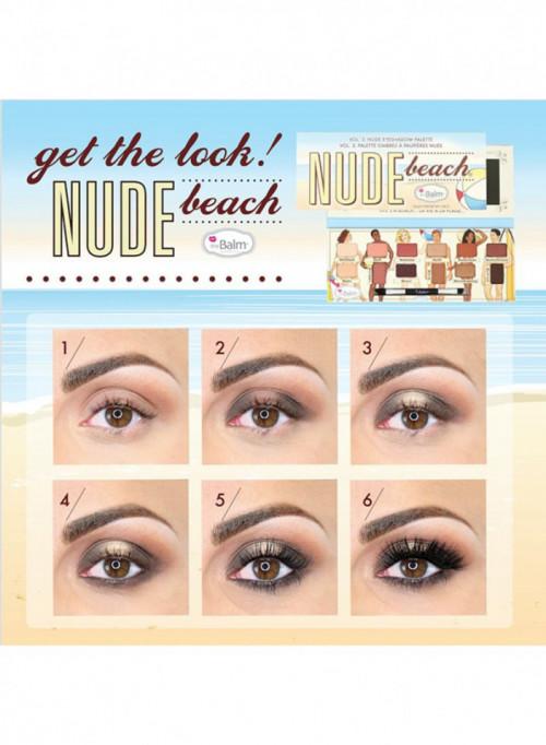 Trusa machiaj TheBalm Nude Beach