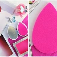 Beauty Blender Blotterazzi Set 2 buretei plati cosmetici + Trusa de protectie cu oglinda atasata