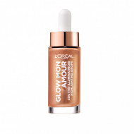 Iluminator lichid Loreal Glow Mon Amour HIghlighting Drops 02 Loving Peach