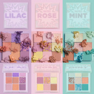 Paleta farduri de pleoape Huda Beauty Pastels Rose