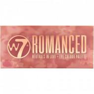 Paleta farduri de pleoape W7 Romanced Neutrals In Love, 14 culori