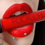 Ruj de buze lichid mat Focallure Ultra Chic Lips, Nuanta 01 Coquelicot