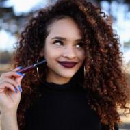 Ruj de buze rezistent la transfer Sephora Cream Lip Stain 99 Purple Red