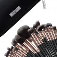 Set 20 pensule machiaj Senso Pro Milano Black Gold + Borseta