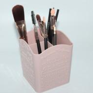 Suport pensule, organizator cosmetice