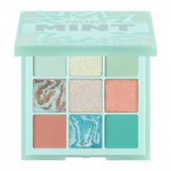 Paleta farduri de pleoape Huda Beauty Pastels Mint