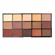 Paleta farduri de pleoape Technic Bronze & Beautiful, 15 culori
