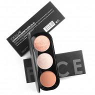 Paleta pudre iluminatoare si bronzer, Focallure Blush & Highlighter 02