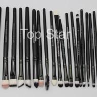 Set 20 pensule machiaj Black Brushes