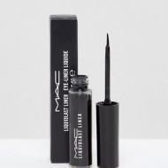 Tus de ochi Eyeliner lichid MAC Liquidlast Waterproof Liner Negru