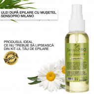 Ulei dupa epilare Senso Pro Milano cu Musetel , 100ml