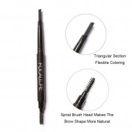 Creion sprancene Focallure Auto Brows Pen, 01 Dark Gray