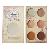 Paleta corectoare Kiss Beauty Highlight Contour Palette #2