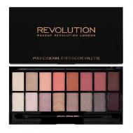 Paleta farduri de ochi Makeup Revolution New-Trals vs Neutrals, 16 Culori