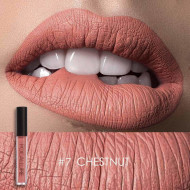Ruj de buze lichid mat Focallure Ultra Chic Lips, Nuanta 07 Chestnut