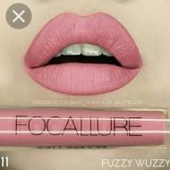 Ruj de buze lichid mat Focallure Ultra Chic Lips, Nuanta 11 Fuzzy Wuzzy