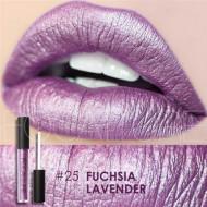 Ruj de buze metalic Focallure Lips Matte Metallic 25 Fuchsia Lavender