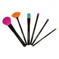 Set 6 pensule machiaj Technic Colour Brushes